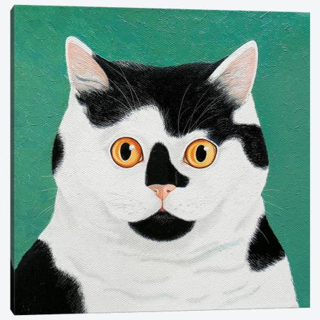 Moomoo Canvas Print #VMN89} by Vicky Mount Canvas Wall Art