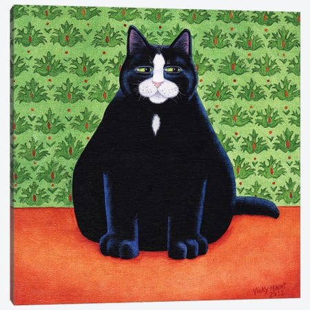 Nobby Canvas Print #VMN95} by Vicky Mount Canvas Art
