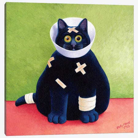 On The Mend 3-Piece Canvas #VMN98} by Vicky Mount Canvas Art Print
