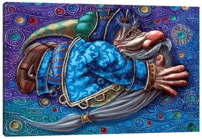 Magic Flight II Canvas Art Print