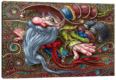 Magic Flight III  Canvas Art Print