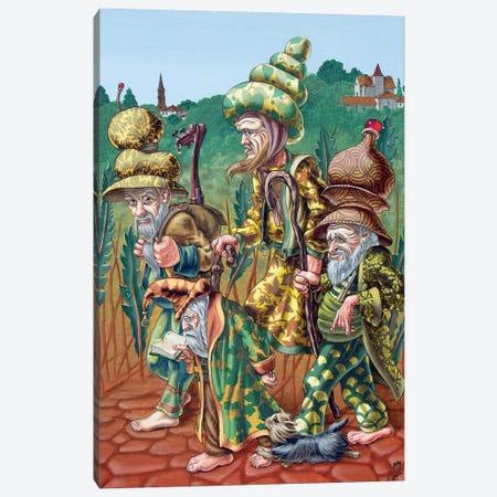 Pilgrims Of High Grass Canvas Print #VMO108} by Victor Molev Canvas Art Print
