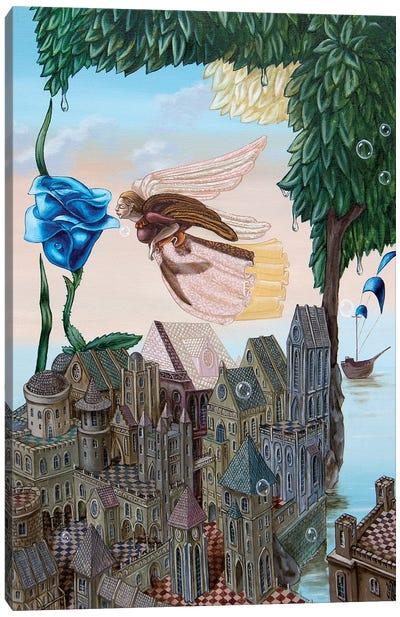 Prophetic Dream Of Theodore Herzl Canvas Art Print