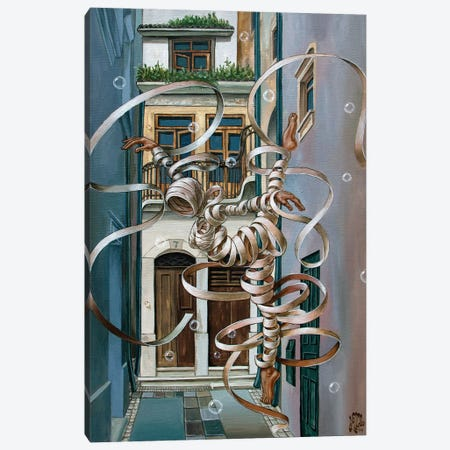Coimbra 3-Piece Canvas #VMO15} by Victor Molev Canvas Print