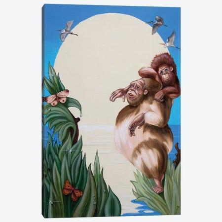 Darwin Canvas Print #VMO19} by Victor Molev Canvas Wall Art