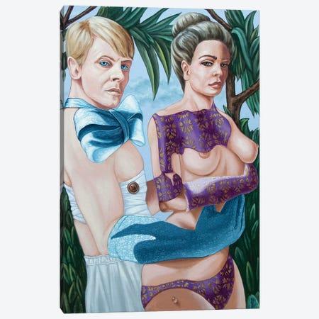 David Bowie Canvas Print #VMO20} by Victor Molev Art Print