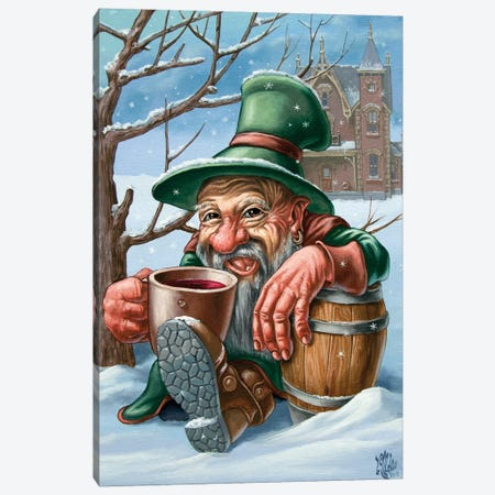 Drunkard Canvas Print #VMO23} by Victor Molev Canvas Art Print