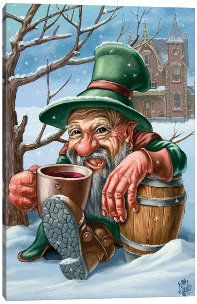 Drunkard Canvas Art Print