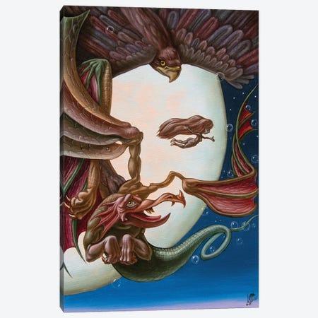 Elvis Canvas Print #VMO29} by Victor Molev Canvas Art Print