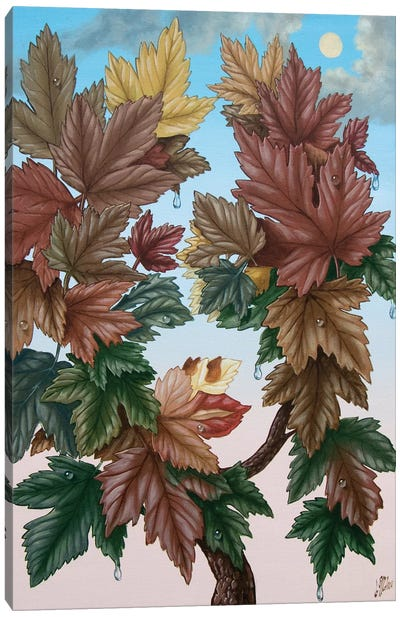 Flora Autumn Canvas Art Print