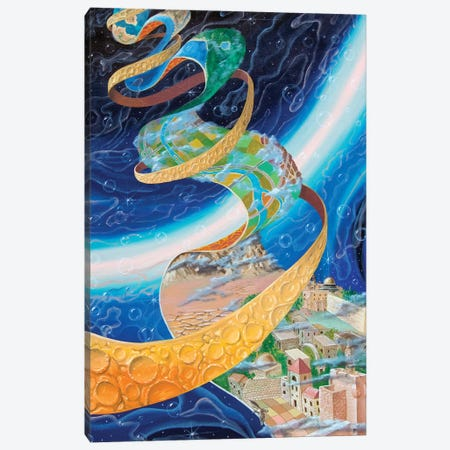 Fourth Dimension Canvas Print #VMO32} by Victor Molev Canvas Artwork