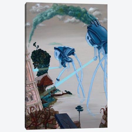 Herbert George Wells Canvas Print #VMO41} by Victor Molev Canvas Print
