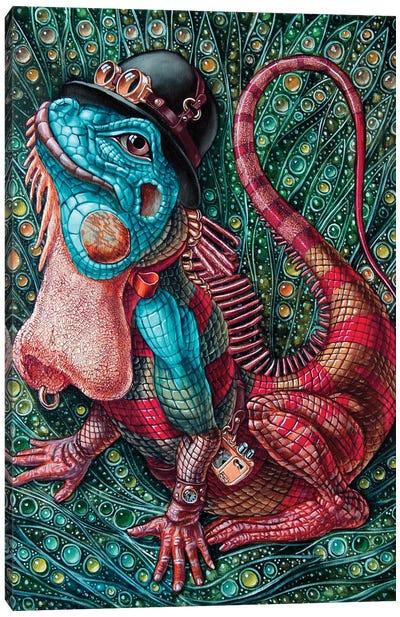 Iguana Canvas Art Print