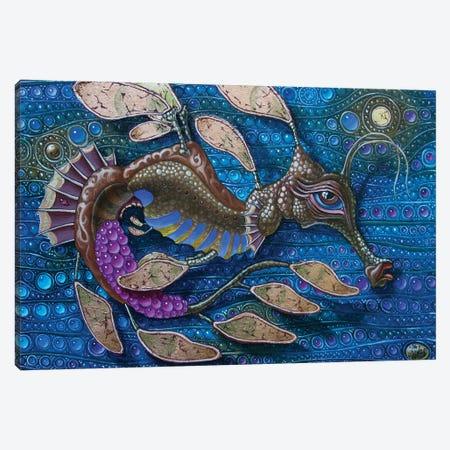 Leafy Seadragon Canvas Print #VMO47} by Victor Molev Canvas Wall Art