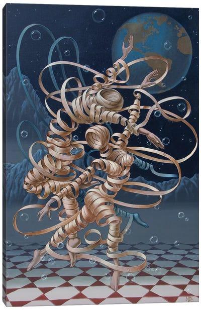 Lunar Ballet Canvas Art Print