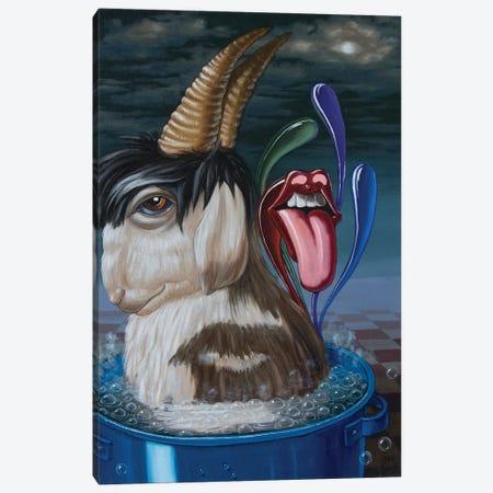 Mick Jaggers Soup 3-Piece Canvas #VMO52} by Victor Molev Canvas Artwork