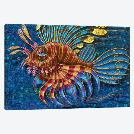 Pterois Canvas Print #VMO64} by Victor Molev Canvas Artwork