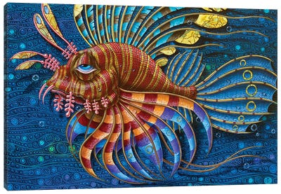 Pterois Canvas Art Print