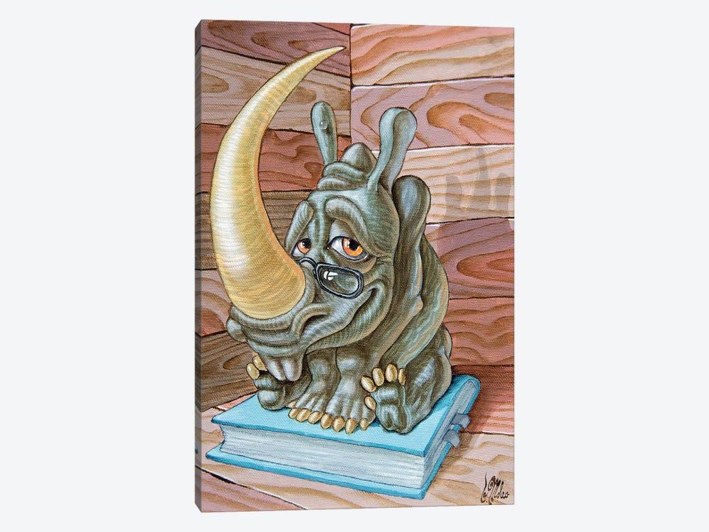 Rhino by Victor Molev 1-piece Canvas Print