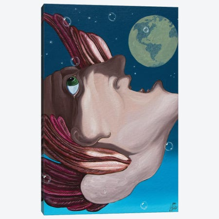 Ringo Canvas Print #VMO68} by Victor Molev Canvas Print