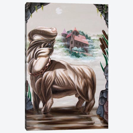 The Hound Of The Baskervilles Canvas Print #VMO76} by Victor Molev Canvas Print