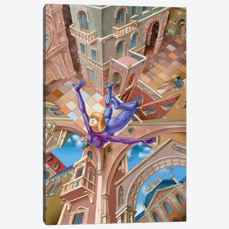 Trapez Canvas Print #VMO79} by Victor Molev Canvas Artwork
