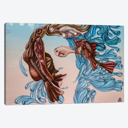 Venus 3-Piece Canvas #VMO82} by Victor Molev Art Print