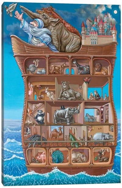 Noah Canvas Art Print