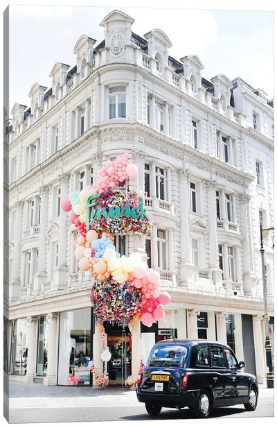 Bond Street Balloons Canvas Art Print