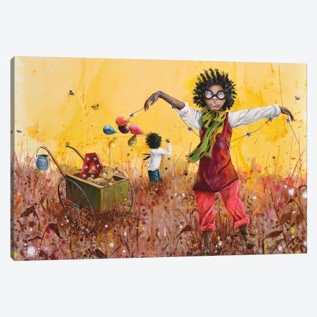 Les Petits Bohemes Canvas Print #VMZ11} by Virginie Mazureau Canvas Print