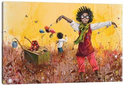 Les Petits Bohemes Canvas Art Print