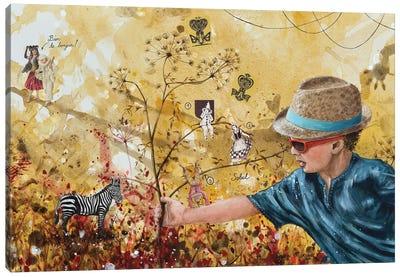 Simon Says Canvas Art Print
