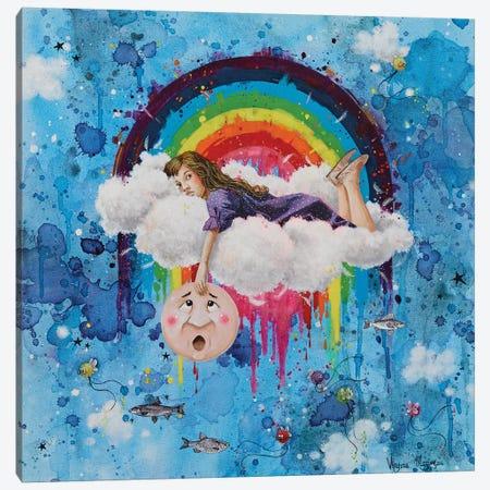 Up In The Air Canvas Print #VMZ19} by Virginie Mazureau Canvas Art Print