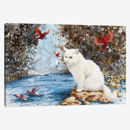 A Quiet Journey 3-Piece Canvas #VMZ2} by Virginie Mazureau Canvas Wall Art