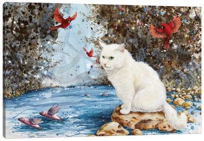 A Quiet Journey Canvas Art Print