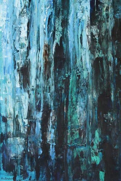Blues And Greens Canvas Art Print By Vian Borchert Icanvas