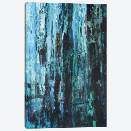 Blues And Greens Canvas Print #VNB10} by Vian Borchert Canvas Print
