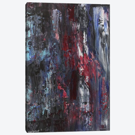 Burgundy Canvas Print #VNB11} by Vian Borchert Art Print