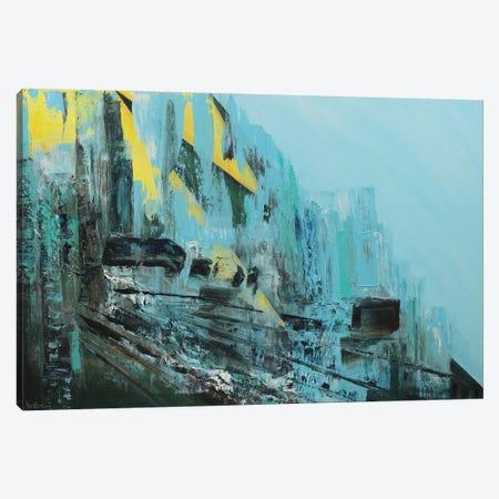 Cascading Canvas Print #VNB12} by Vian Borchert Canvas Print