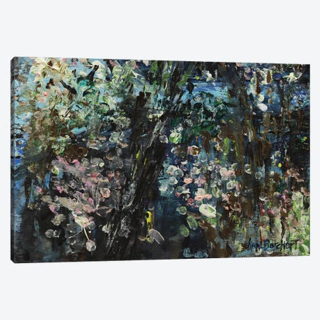 Enchanted Cherry Blossoms Canvas Print #VNB15} by Vian Borchert Canvas Wall Art
