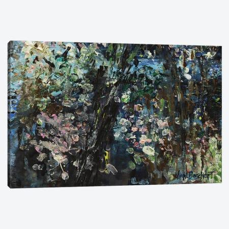 Enchanted Cherry Blossoms Canvas Print #VNB15} by Vian Borchert Canvas Wall Art