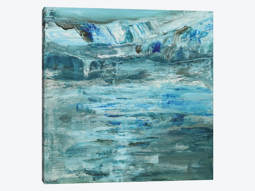 Glacier by Vian Borchert 1-piece Art Print