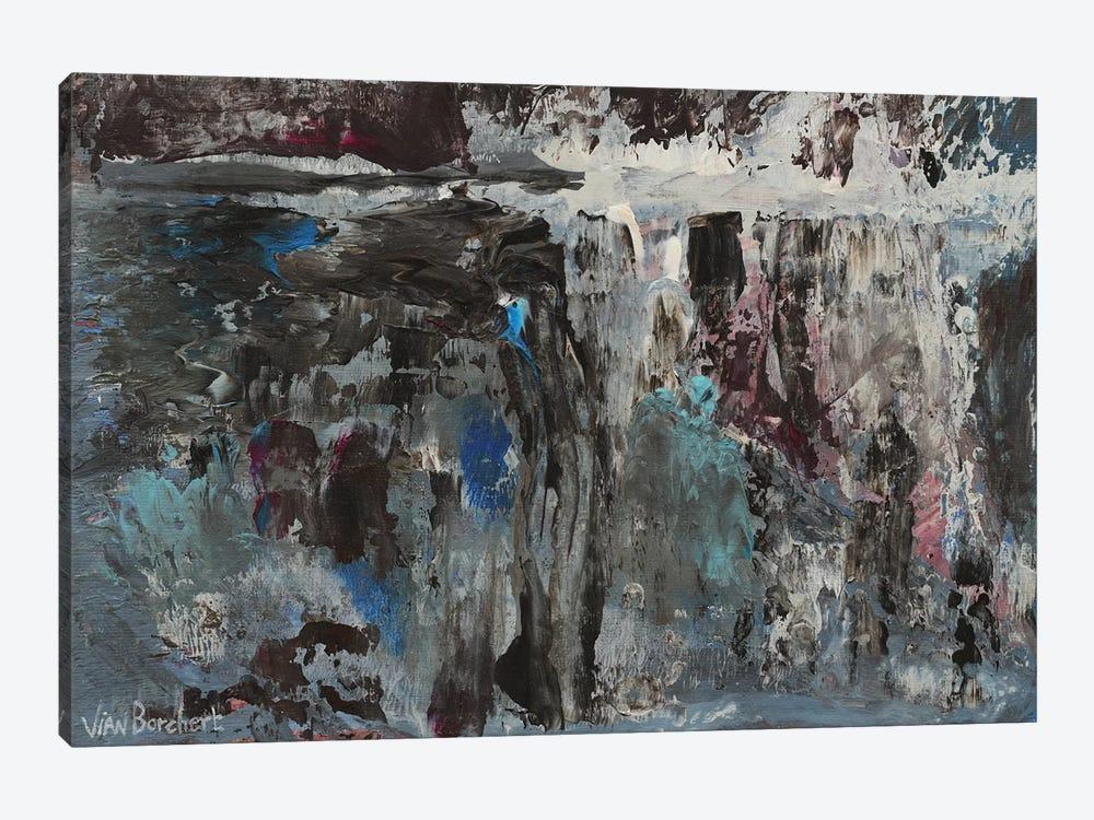 Lavender by Vian Borchert 1-piece Canvas Art