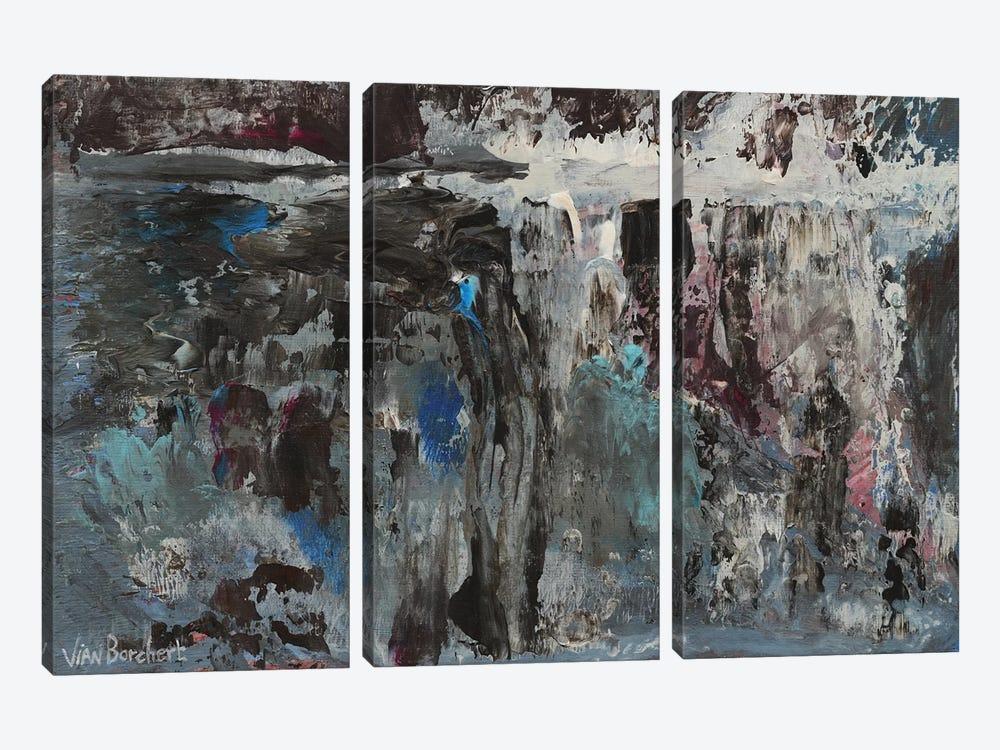 Lavender by Vian Borchert 3-piece Canvas Wall Art