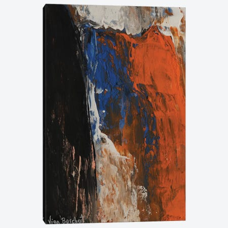 Orange Canvas Print #VNB22} by Vian Borchert Canvas Wall Art