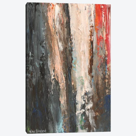 Pink Red Canvas Print #VNB24} by Vian Borchert Art Print