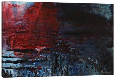 Red Splash Canvas Art Print