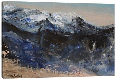 Snow Mountains Canvas Art Print