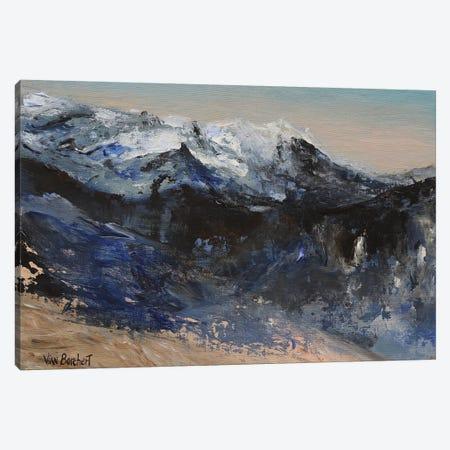 Snow Mountains Canvas Print #VNB29} by Vian Borchert Canvas Wall Art