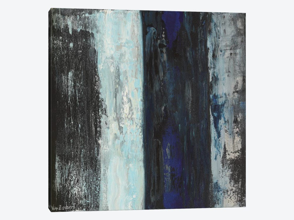 Stripes by Vian Borchert 1-piece Canvas Art